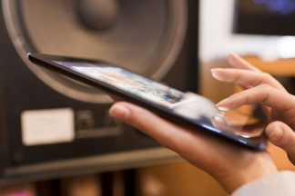 Wireless Audio via Tablet