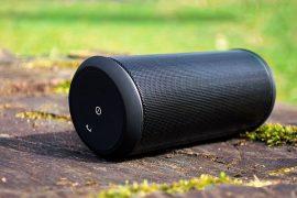 Wireless Speaker draußen
