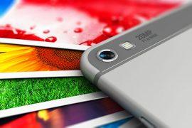 Gedruckte Fotos vom Smartphone