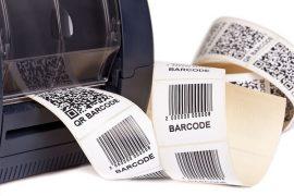 Barcodes kabellos gedruckt